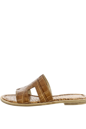 KENNEL & SCHMENGER Kito Croc Slide Sandals