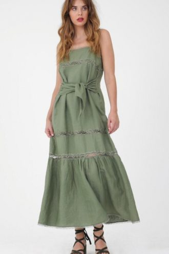 Gold Hawk – Sundress Olive
