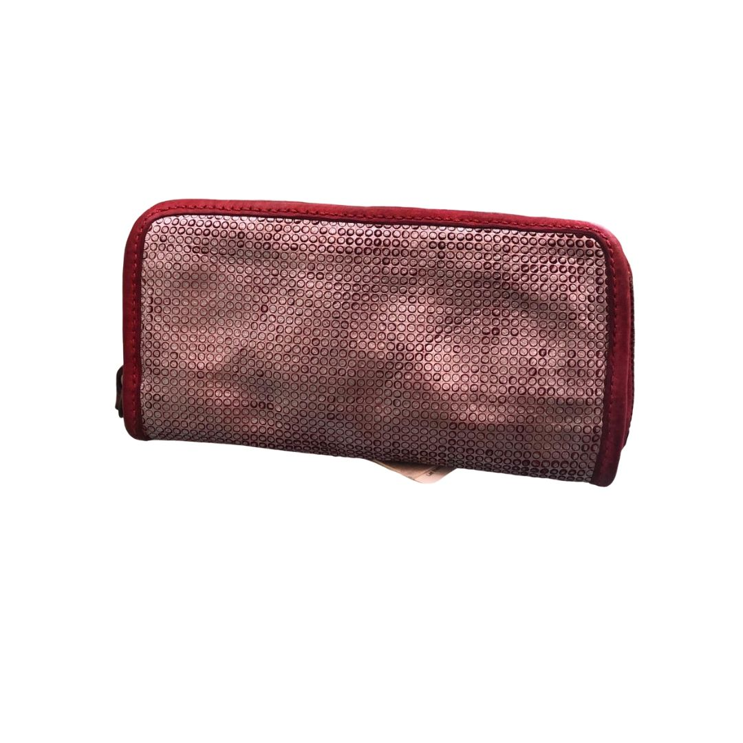 CAMPOMAGGI Red/Silver Wallet