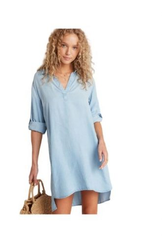 Bella Dahl – Long Sleeve A-line Dress