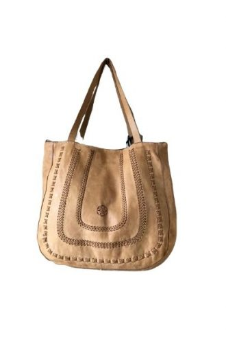 CAMPOMAGGI Light Brown Shopper
