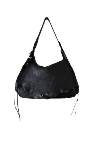 CAMPOMAGGI Plain black handbag