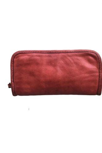 CAMPOMAGGI Plain Brown Wallet